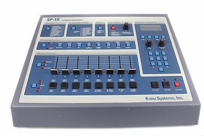 E-mu SP-12 Turbo Sampler, NEU: LED-Display, Trafo, Slider