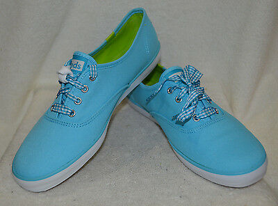 5868be28809 KEDS WOMEN S CHAMPION Sky Blue   Coral Canvas Shoes - Assorted Sizes ...