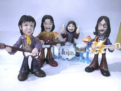 THE BEATLES: CARTOONS DOLLS FIGURES -BRAND NEW SET-In Box-Discontinued.!!