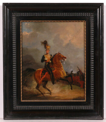 "Jan Willem Pieneman ""Lord Uxbridge at Waterloo"", Important Oil Portrait! ca.1820"