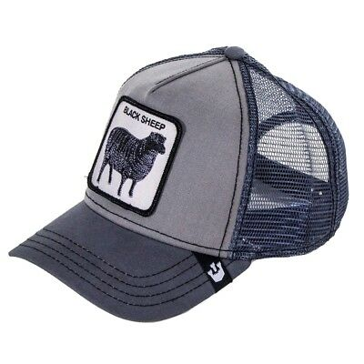 dc4aa32c9c0e2 GOORIN BROS BLACK Sheep Trucker Cap - Grey - EUR 34