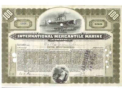IMM International Mercantil Marine 1917 Titanic White Star Line