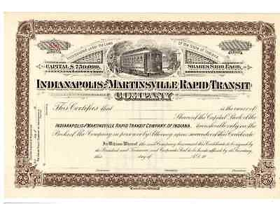 Indianapolis and Martinsville Rapid Transit Company