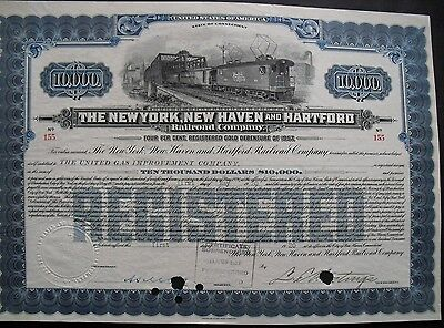 New York New Haven and Hartford Railroad  1920  10000$