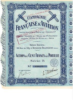 Lot: 3 Francaise D' Aviation 1930