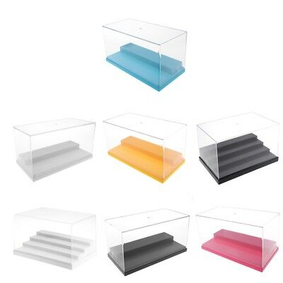 Acrylic Perspex Display Case Box for Animal Figure Diecast Model Car Doll Toys