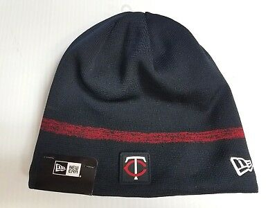 869a08ba57b Minnesota Twins New Era Knit Hat 2018 Clubhouse Collection Beanie Stocking  Cap