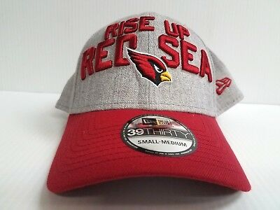 Arizona Cardinals Cap New Era 39Thirty Stretch 2018 On Stage NFL Draft Day  Hat 34c42a341