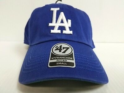 low priced 5b1e4 a0aa2 Los Angeles Dodgers New Franchise  47 Brand Fitted Cap Unstructured Blue Hat  MLB
