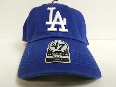 low priced bb082 ad22a Los Angeles Dodgers New Franchise  47 Brand Fitted Cap Unstructured Blue Hat  MLB