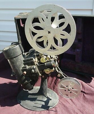 ANTIQUE BELL &  MOVIE PROJECTOR for restoration Project piece estate find. 1929?