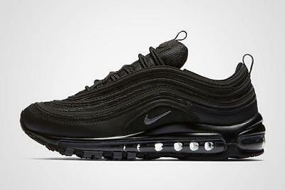NIKE AIR MAX 97 OG BLACK originali 100 % SCATOLO E BOX TRIPLE BLACK