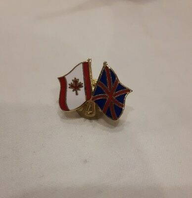 Canadian Britain flag pin 🇨🇦