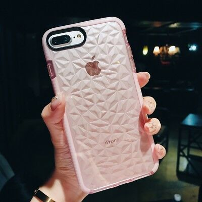 Shockproof Soft Clear Phone Case Soft Bumper Cover For iPhone X 5 SE 6s 7 8 Plus