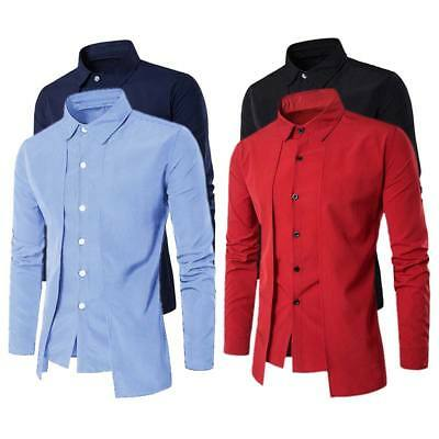 New Design Mens Luxury Casual Stylish Slim Fit Long Sleeve Casual Dress Shirts
