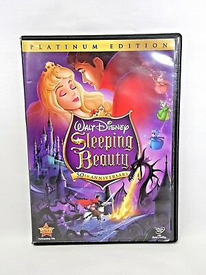 Sleeping Beauty (DVD, 2008, 2-Disc Set, 50th Anniv Platinum Edition)