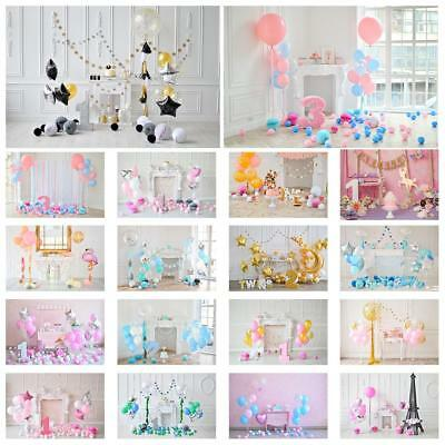 Baby Kid Birthday Party Theme Photography Vinyl Backdrop Background Studio Props