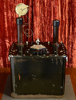 Antique Keleket X-RAY Tube Machine HIGH VOLTAGE power transformer Tesla coil era