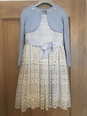 Girls Monsoon Outfit. Age 6. VGC. Perfect For Weddings Or Special Occasions