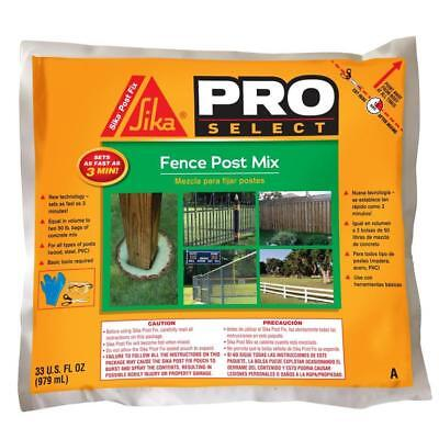 Sika 483503 Pro Select 33 OZ Post Fix Fence Post Mix