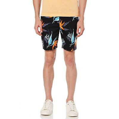 Original Penguin Men's Birds Of Paradise Swim Trunk Shorts Dark Sapphire