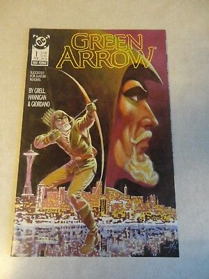 Green Arrow Issue #1 Comic Book (Feb 1988, DC Comics) First Issue