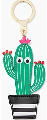 Kate Spade Cactus Out Of Office Scenic Route Key Fob Keychain Charm🌵SALE🌵
