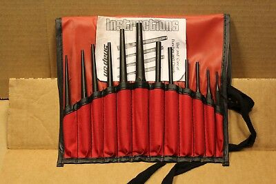 New Snap On PPSD120BK 12pc Pin and Starter Punch Set