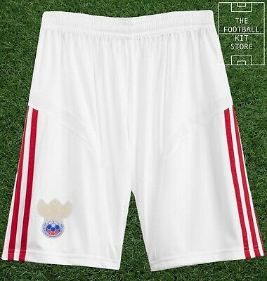Russia Home Shorts - Official Adidas Boys Football Shorts - All Sizes