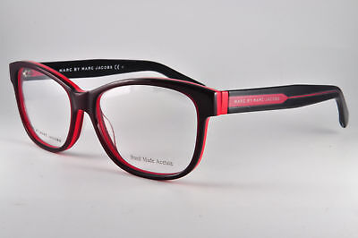 ba0a22fe25b94 Marc By Marc Jacobs Eyeglasses MMJ 586 0FLX Burgundy Orange Red
