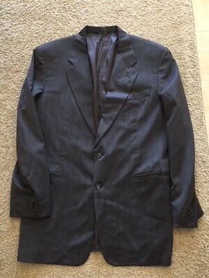 Canali Milano For Bloomingdales 2 Button Virgin Wool Jacket