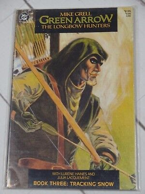 Green Arrow Longbow Hunters 3 (2nd Print) DC Comics 1987 Bagged & Boarded - C526