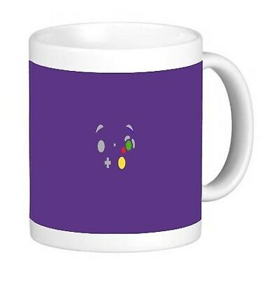 Minimal Retro Purple Gamer 11 ounce Ceramic Coffee Mug Tea Cup by Demon Decal