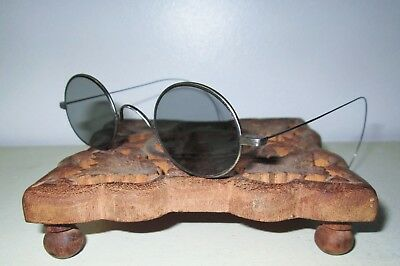 Antique Civil War Sunglasses Spectacles Vtg Retro Victorian Spectacles Steampunk