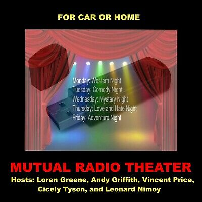 Mutual - Sears Radio Theatre. Enjoy 289 Radio Shows In Your Car Or At Home!