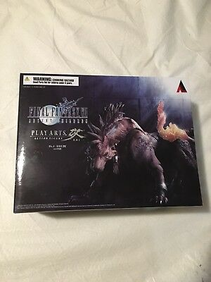 Final Fantasy VII Advent Children Red XIII Play Arts Kai Action Figure Brand NEW