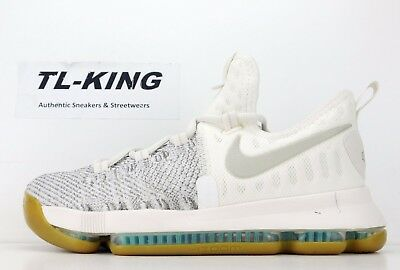 huge discount 4d8f1 079f5 Nike Zoom KD 9 GS Youth Pale Grey Ivory Kevin Durant 855908-098 Msrp  125