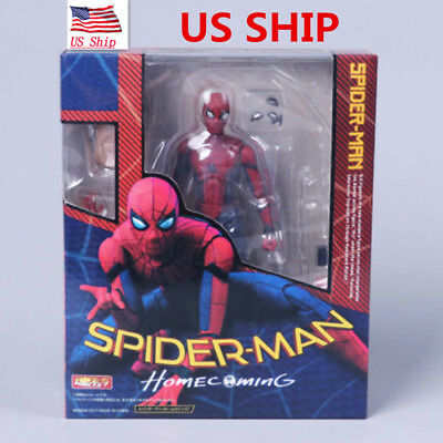 US! SHF S.H.Figuarts Spider-Man Homecoming Spiderman Hero Action Figure Toy Gift