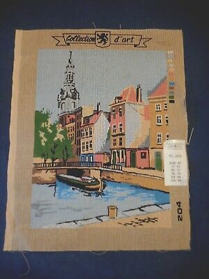 TAPESTRY COLLECTION d ART NO 204 CANVAS CANAL VENICE