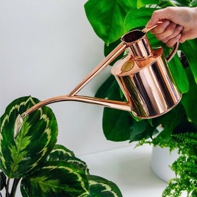 NEW Haws Indoor Copper Watering Can 1L   Brand new   Gift idea   Handcrafted  