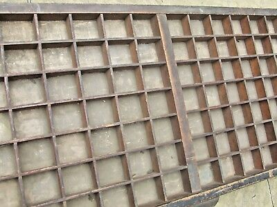 Letterpress Printing WOODEN TYPECASE DOUBLE CAPITALS Compositor's Gould & Reeves