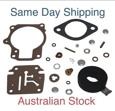 New Johnson Evinrude Carb Carby Carburetor  Kit 18 - 70 HP 396701