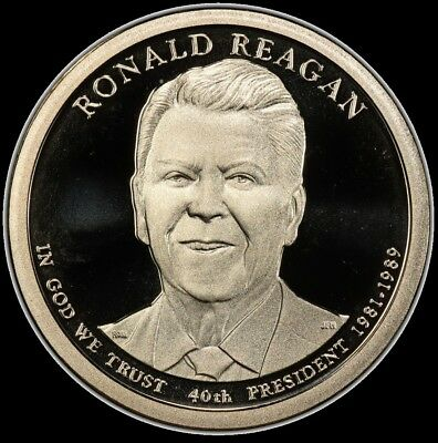 2016 S Ronald Reagan Presidential Dollar Gem Deep Cameo PROOF US Mint
