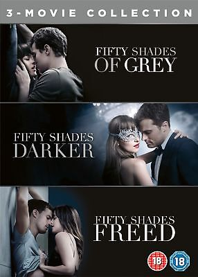 Fifty Shades: 3-movie Collection (Box Set) [DVD]