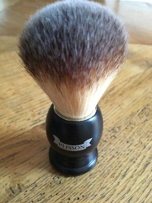 blaireau PLISSON brosse à barbe shaving brush hand assembled made in France NEUF