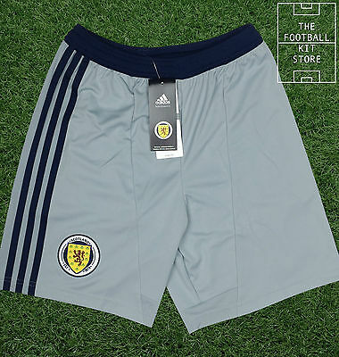 Scotland Goalkeeper Shorts - Official Adidas Boys Football Shorts - All Sizes