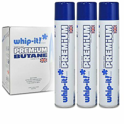Whip-it! Refined Butane Fuel Premium Refined Butane, 3 Pack