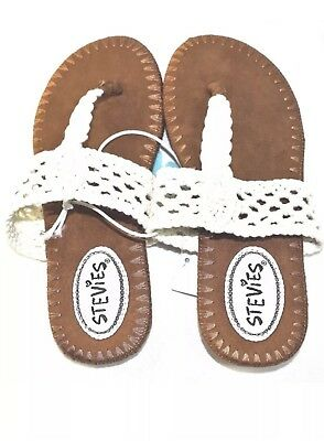 Stevies by Steve Madden-Girls Size 2 Silver #GLITZY Embellished Sandals-New!!