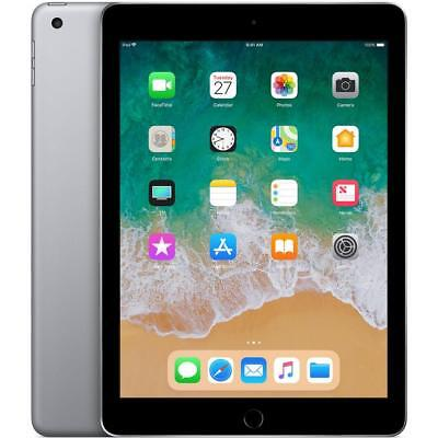 "APPLE iPad 2018 Wi-Fi 32GB, 128 GB Space Grau 9,7"" Zoll (24,63cm)"