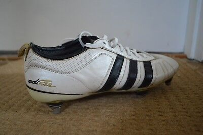 d14b61370185 RARE ADIDAS ADIPURE Iv Trx Sg Football Boots White/gold (Size Uk 10 ...
